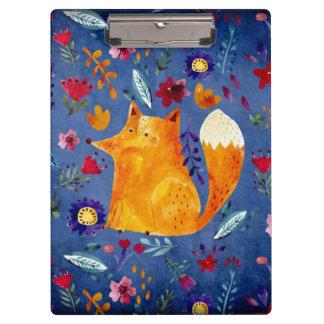 Carpeta De Pinza El Fox de Smart en jardín de flores