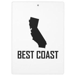 Carpeta De Pinza El mejor negro de California de la costa oeste