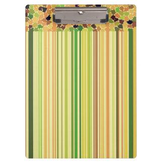 Carpeta De Pinza El otoño colorea el amarillo Brown verde del rojo