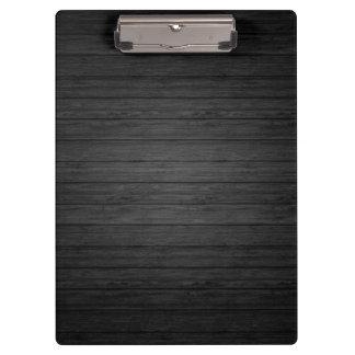 Carpeta De Pinza Elegante moderno del fondo de madera