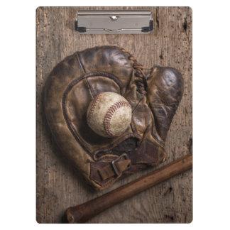Carpeta De Pinza Equipo de béisbol del vintage
