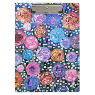 Carpeta De Pinza Estallido de la flor