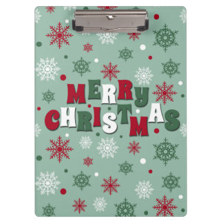 Carpeta De Pinza Felices Navidad
