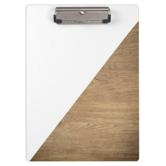 Carpeta De Pinza Foto profesional de madera blanca geométrica
