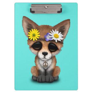 Carpeta De Pinza Hippie lindo del Fox del bebé