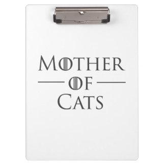 Carpeta De Pinza Madre de gatos