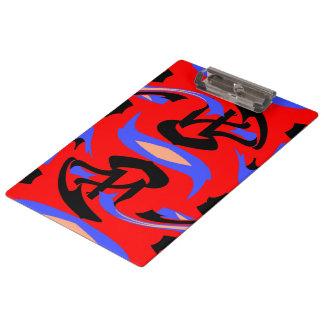 Carpeta De Pinza Mezcla india y japonesa nativa roja festiva del