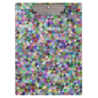 Carpeta De Pinza Modelo feliz del triángulo
