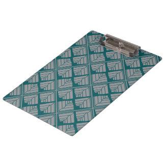 Carpeta De Pinza Neutral cuadrado del trullo del modelo de la hoja