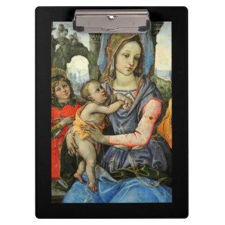 Carpeta De Pinza Niño San José de Madonna Cristo y ángel