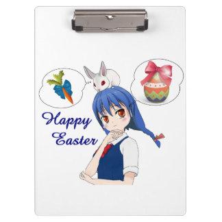 Carpeta De Pinza Pascua feliz (personalizable)