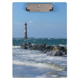 Carpeta De Pinza Playa de la locura del faro de Morris