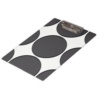 Carpeta De Pinza Punto gris oscuro