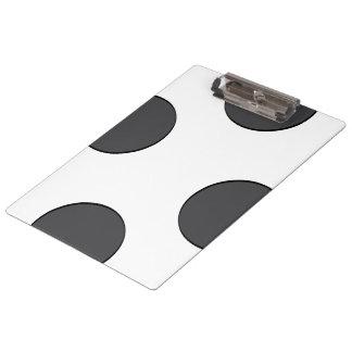 Carpeta De Pinza Puntos gris oscuro a cuadros