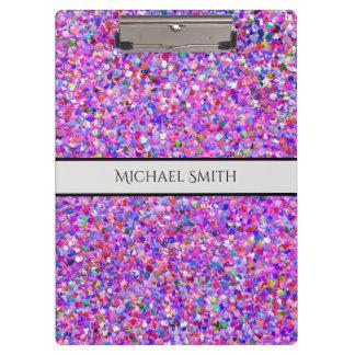Carpeta De Pinza Purpurina moderno #3 de la arena del mosaico