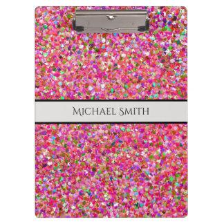 Carpeta De Pinza Purpurina moderno #4 de la arena del mosaico