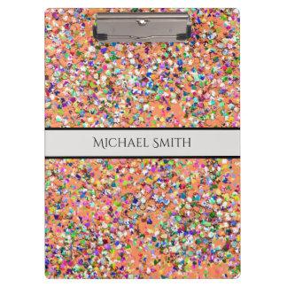 Carpeta De Pinza Purpurina moderno #5 de la arena del mosaico