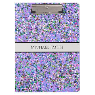 Carpeta De Pinza Purpurina moderno #6 de la arena del mosaico