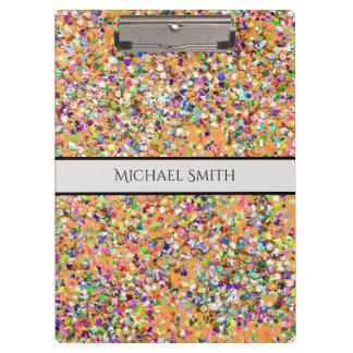 Carpeta De Pinza Purpurina moderno #9 de la arena del mosaico