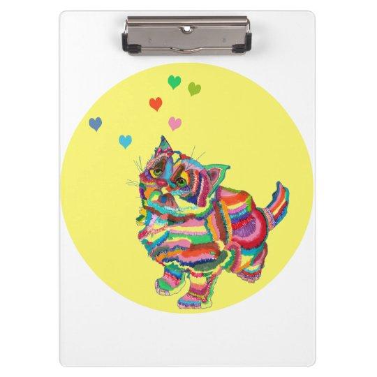 Carpeta De Pinza Rainbowcat
