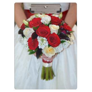 Carpeta De Pinza Ramo nupcial de los rosas