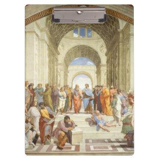 Carpeta De Pinza Raphael - La escuela de Atenas 1511