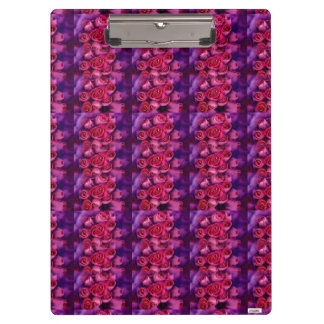 Carpeta De Pinza Rosas