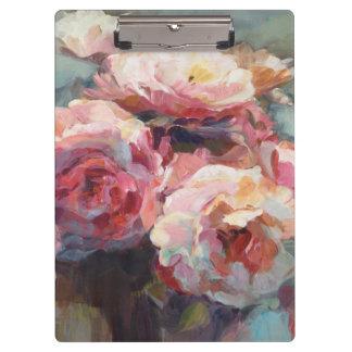 Carpeta De Pinza Rosas del rosa salvaje