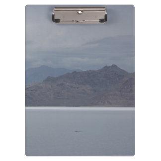 Carpeta De Pinza Sal de Utah y tablero del horizonte