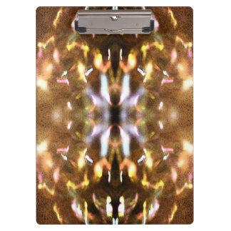 Carpeta De Pinza Tablero brillante de las luces