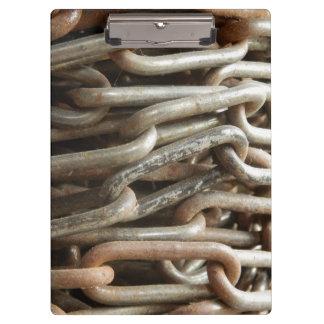 Carpeta De Pinza Tablero de cadena viejo