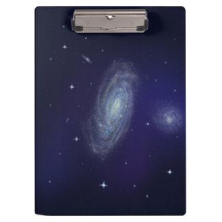 Carpeta De Pinza Tablero de clip profundo de la galaxia