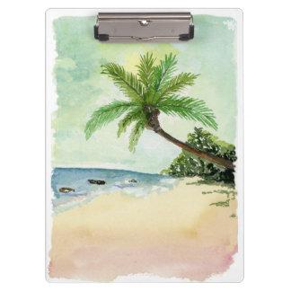Carpeta De Pinza Tablero de la playa