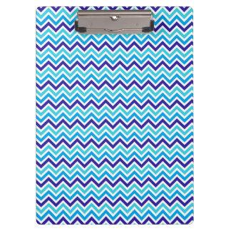 Carpeta De Pinza Tablero de la tela escocesa del zigzag del modelo