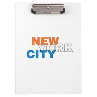 Carpeta De Pinza Tablero de New York City