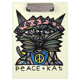 "Carpeta De Pinza ""Tablero del Kat de la paz"""