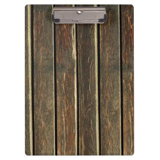 Carpeta De Pinza tableros rústicos de madera del piso