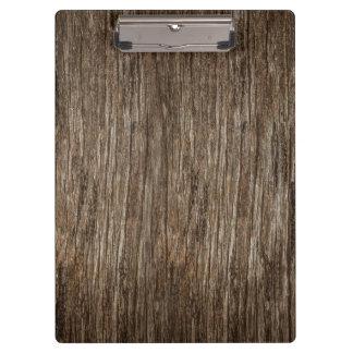Carpeta De Pinza textura de madera resistida oscuridad