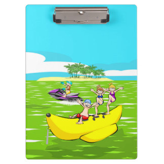 Carpeta De Pinza Verano en la playa con los amigos