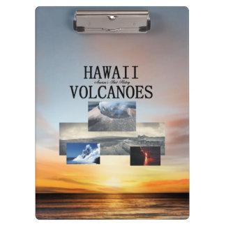 Carpeta De Pinza Volcanes de ABH Hawaii