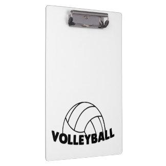 Carpeta De Pinza Voleibol