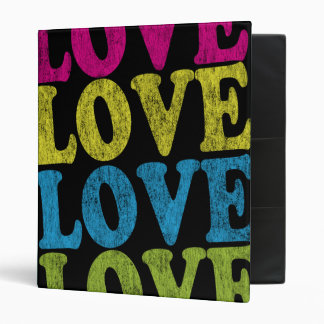 Carpeta del amor carpeta 2,5 cm