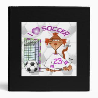 Carpeta del balón de fútbol carpeta 3,8 cm