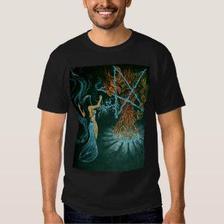 Carpeta del demonio camisetas