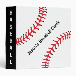 Carpeta del libro de recuerdos del béisbol carpeta 3,8 cm