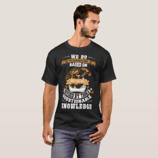 Carpintero del mecánico hacemos camisetas del