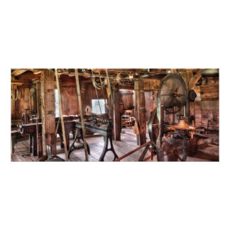 Carpintero - esta tienda vieja tarjeta publicitaria personalizada