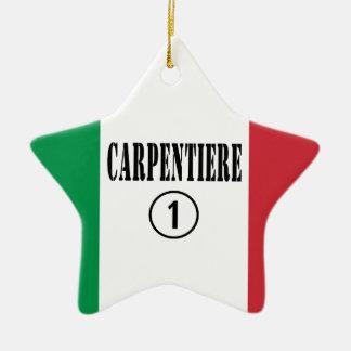 Carpinteros italianos: Uno de Carpentiere Numero Ornamento Para Arbol De Navidad