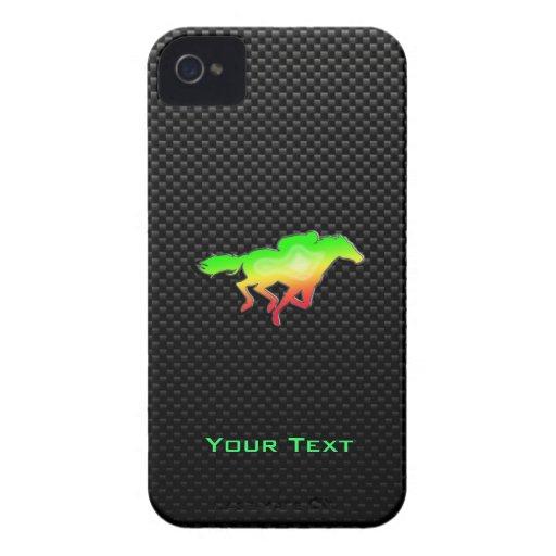 Carrera de caballos lisa Case-Mate iPhone 4 carcasa