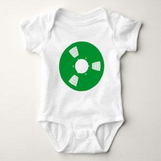 Carrete de cinta de grabación body de bebé